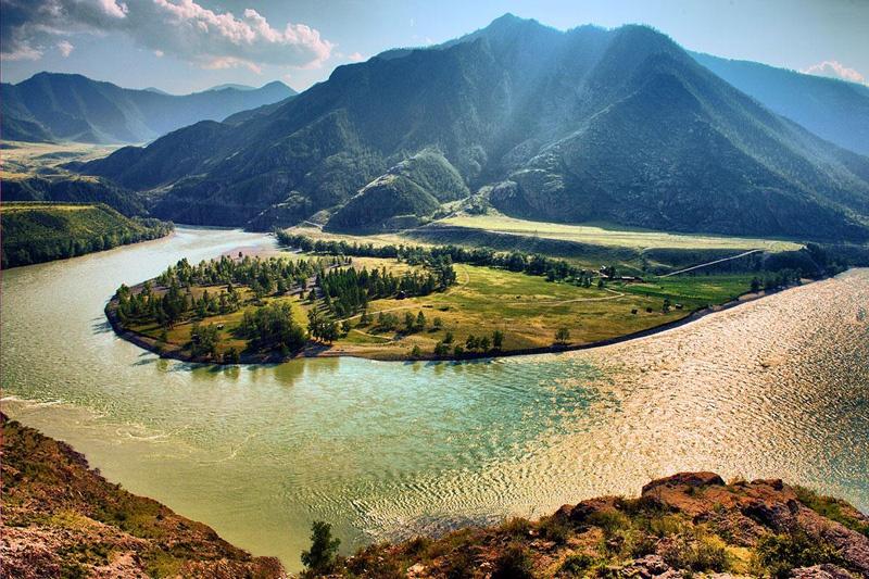 Алтай - река Катунь